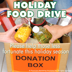 Holiday Food-Drive Blog